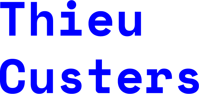 Thieu Custers logo blue